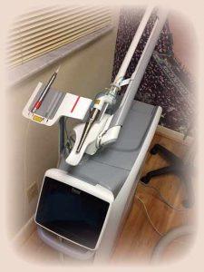 Dental Laser in the Boca Raton dental office of Clive Rosenbusch, DDS